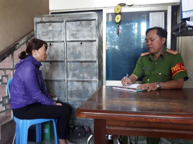 Công an lấy lời khai đối với bà Linh, chủ trường mầm non tư thục Mầm Xanh