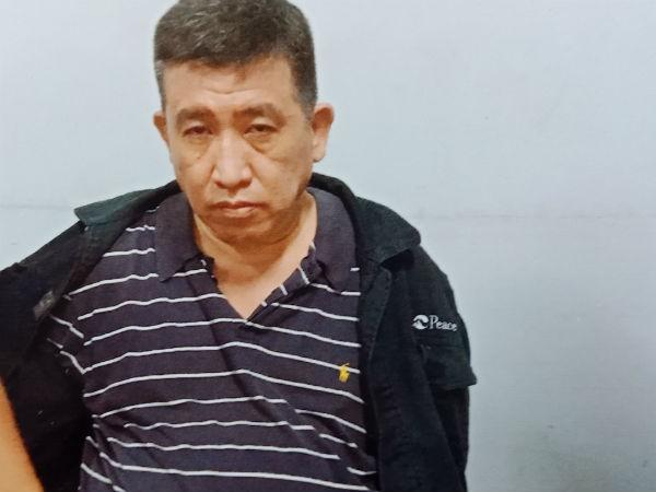 """Đối tượng Chu bị trinh sát bắt giữ khi đang đi giao """"hàng"""""""