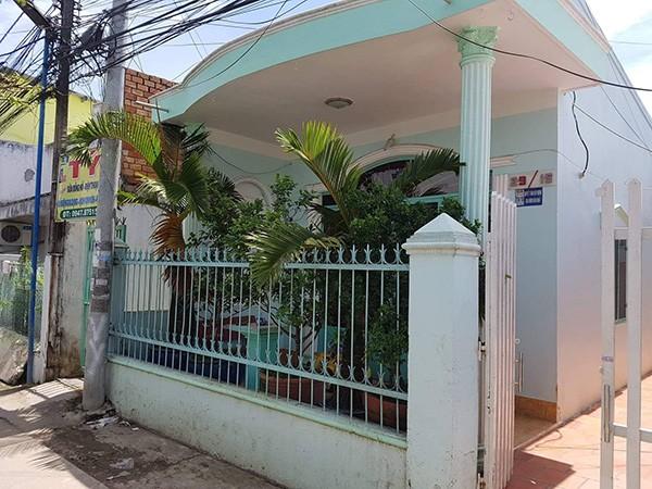 Hiện trường căn nhà của Phi Long Hai, nơi cháu bé 4 tuổi bị đánh dẫn đến tử vong