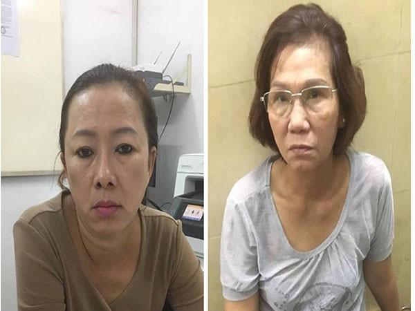 2 đối tượng bị bắt giữ tại cơ quan Công an
