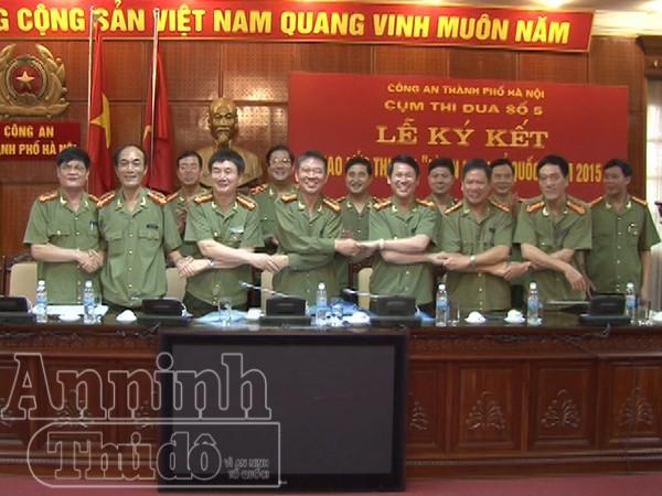 Các đơn vị tham gia ký kết giao ước thi đua