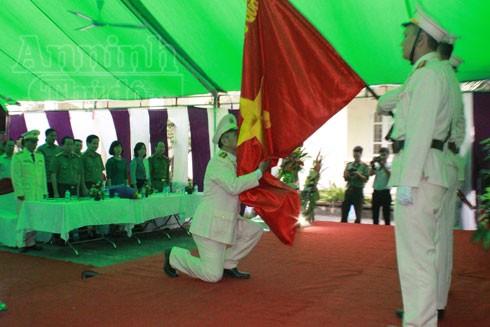 Đồn Công an Lệ Chi, Gia Lâm chính thức đi vào hoạt động