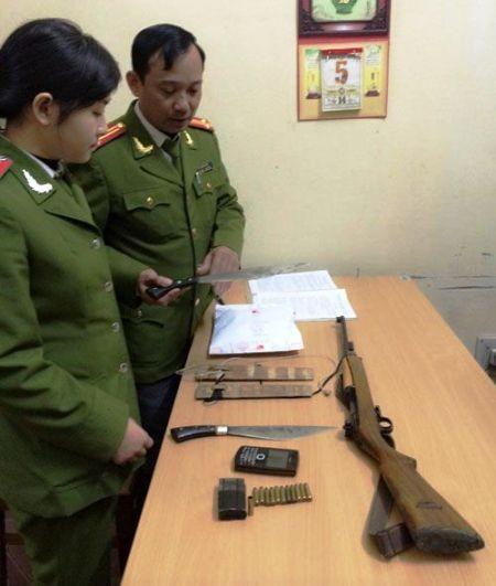 Công an tỉnh Thanh Hóa thu giữ 2 bánh heroin cùng nhiều tang vật liên quan