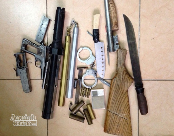 Phá chuyên án mua bán, tàng trữ trái phép ma túy và vũ khí quân dụng ảnh 2
