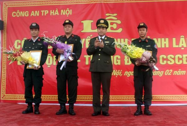 Triển khai lực lượng Cảnh sát cơ động ở khu vực Tây Nam Hà Nội ảnh 2
