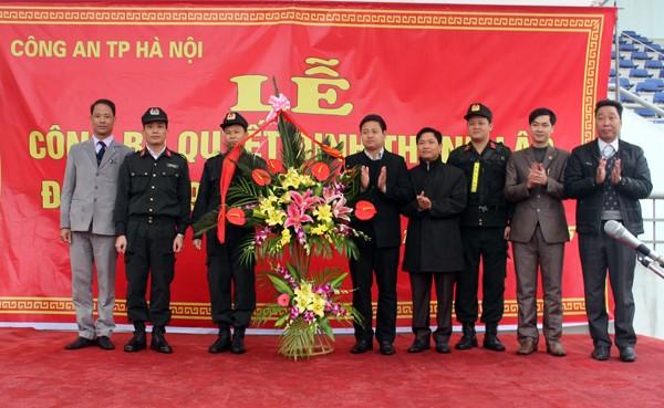 Triển khai lực lượng Cảnh sát cơ động ở khu vực Tây Nam Hà Nội ảnh 6