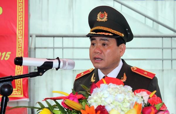 Triển khai lực lượng Cảnh sát cơ động ở khu vực Tây Nam Hà Nội ảnh 4