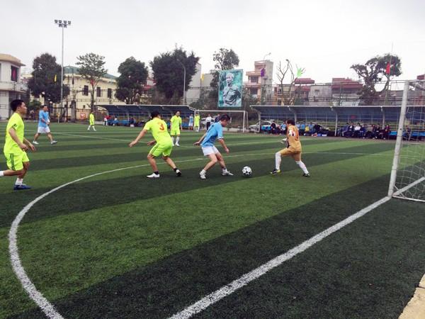 Sôi nổi giải bóng đá Chi cục QLTT Hà Nội ảnh 6