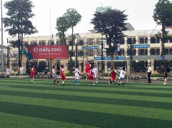 Sôi nổi giải bóng đá Chi cục QLTT Hà Nội