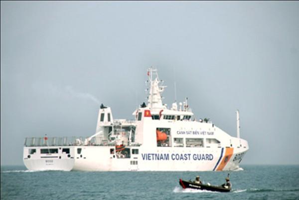 Tàu CSB 8002 chạy thử nghiệm đường dài trên biển