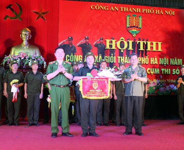 Sôi nổi Hội thi Công an xã giỏi thành phố Hà Nội ảnh 8