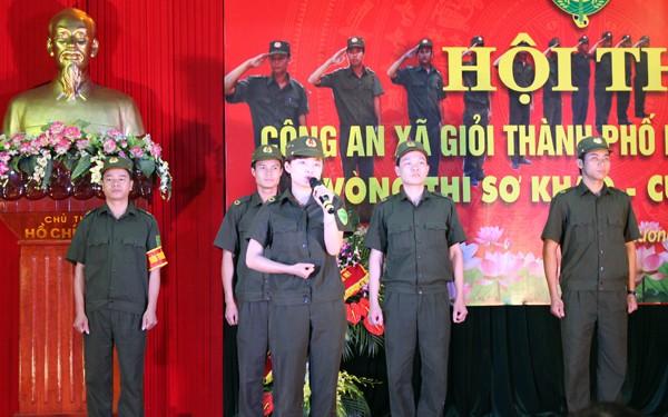 Sôi nổi Hội thi Công an xã giỏi thành phố Hà Nội ảnh 5