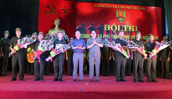Sôi nổi Hội thi Công an xã giỏi thành phố Hà Nội ảnh 4