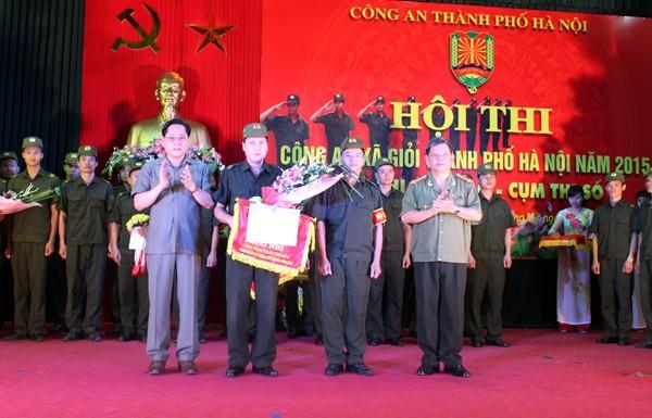 Sôi nổi Hội thi Công an xã giỏi thành phố Hà Nội ảnh 9