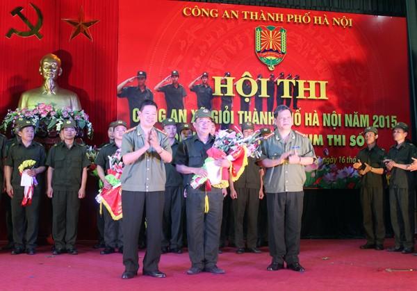 Sôi nổi Hội thi Công an xã giỏi thành phố Hà Nội ảnh 10
