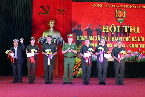 Sôi nổi Hội thi Công an xã giỏi thành phố Hà Nội ảnh 12