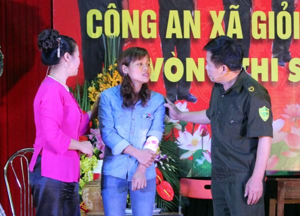Sôi nổi Hội thi Công an xã giỏi thành phố Hà Nội ảnh 7
