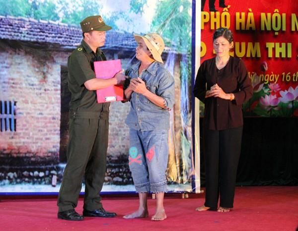 Sôi nổi Hội thi Công an xã giỏi thành phố Hà Nội ảnh 6
