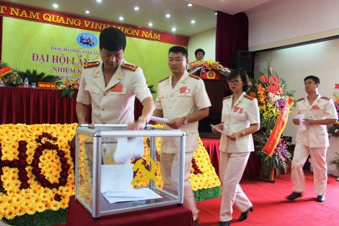 Đảng bộ CAQ Hoàn Kiếm bầu Ban chấp hành nhiệm kỳ 2015 – 2020