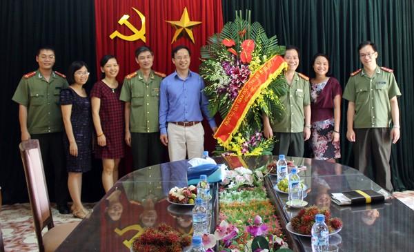 Chia vui, chúc mừng kỷ niệm 90 năm ngày Báo chí Cách mạng Việt Nam ảnh 4