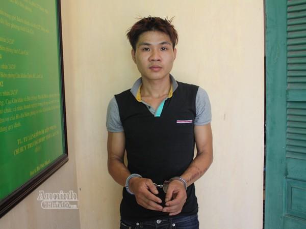Sau khi giải cứu nạn nhân, lực lượng BĐBP tỉnh Lào Cai đã bắt giữ Đỗ Anh Tuấn
