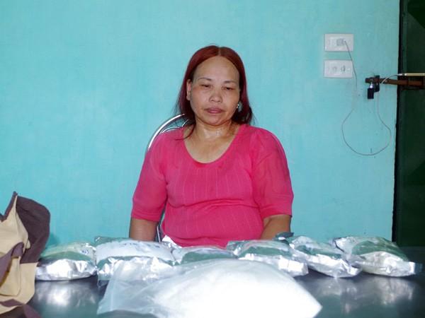 Lê Thị Sơn bị bắt cùng một lượng lớn ma túy