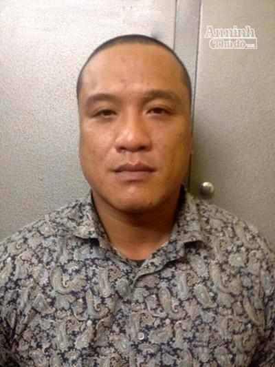 Chu Xuân Hiếu bị bắt quả tang khi đang cưỡng đoạt tài sản của một phụ nữ