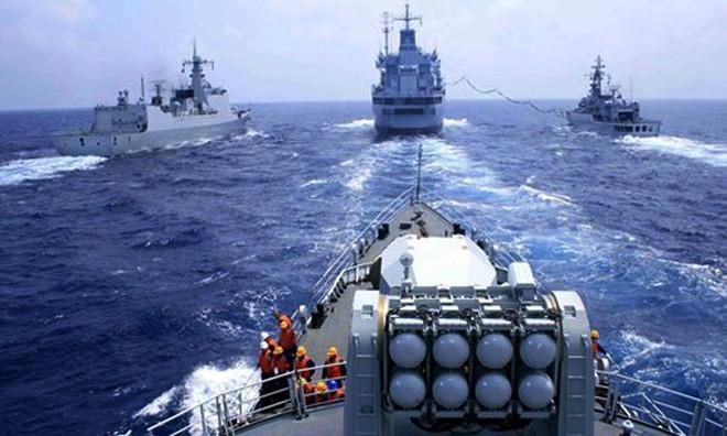 Trung Quốc liên tiếp tập trận với mưu toan dùng sức mạnh quân sự để áp đặt chủ quyền phi pháp trên Biển Đông ảnh 1