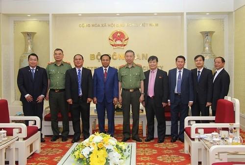 Tăng cường mối quan hệ hợp tác chặt chẽ giữa Bộ Công an Việt Nam và Bộ An ninh Lào ảnh 1