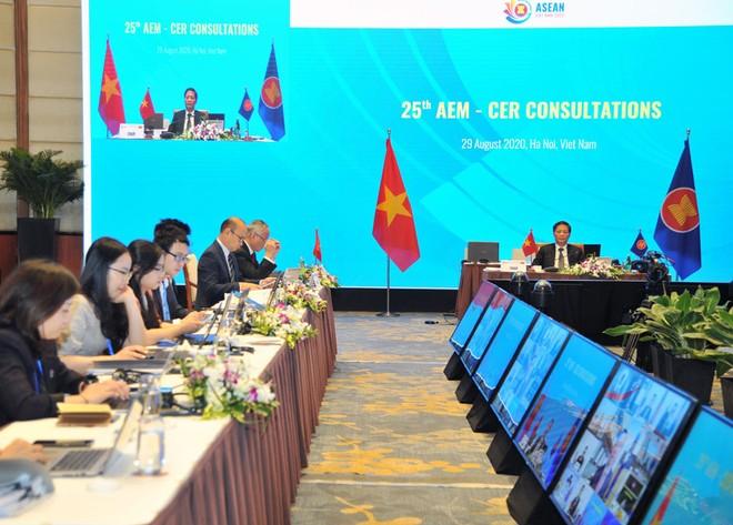 Nỗ lực ký kết Hiệp định Đối tác kinh tế toàn diện khu vực trong năm 2020 ảnh 1