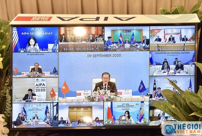 Nghị viện thành viên AIPA đồng tình tiếp tục bảo đảm hòa bình, an ninh, ổn định ở Biển Đông ảnh 1