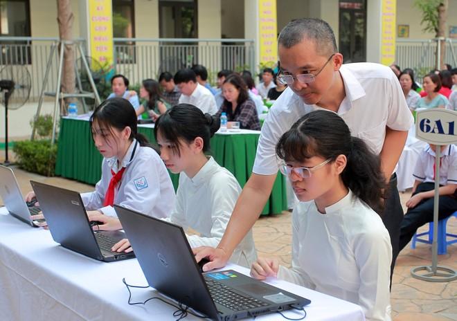 Hà Nội tiên phong ứng dụng công nghệ thông tin và hội nhập quốc tế trong giáo dục ảnh 2