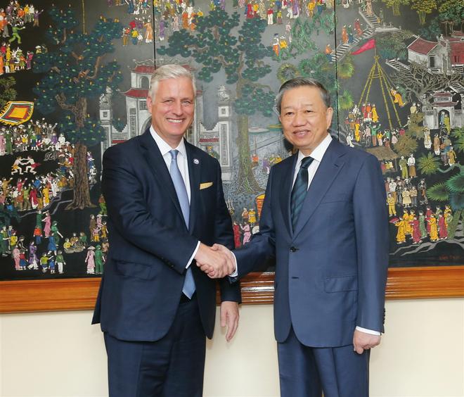 Việt Nam và Hoa Kỳ tiếp tục thắt chặt hợp tác trong lĩnh vực an ninh ảnh 1