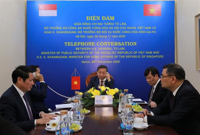 Tăng cường quan hệ hợp tác giữa Bộ Công an Việt Nam với các cơ quan thực thi pháp luật Singapore ảnh 1