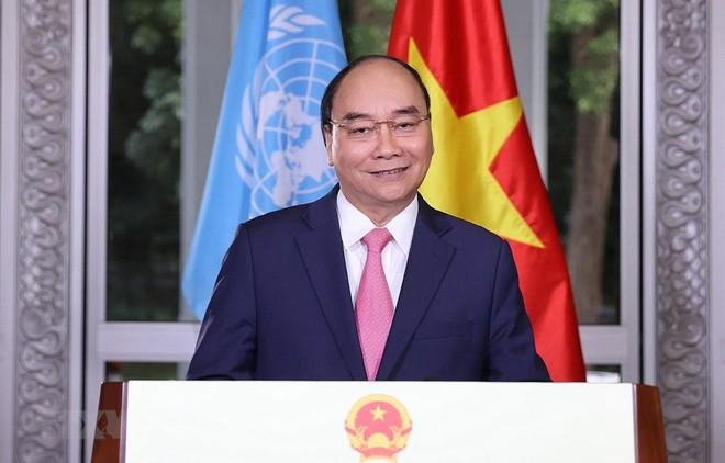 Thông điệp của Thủ tướng Nguyễn Xuân Phúc tại Phiên họp đặc biệt về Covid-19 của Liên hợp quốc ảnh 1