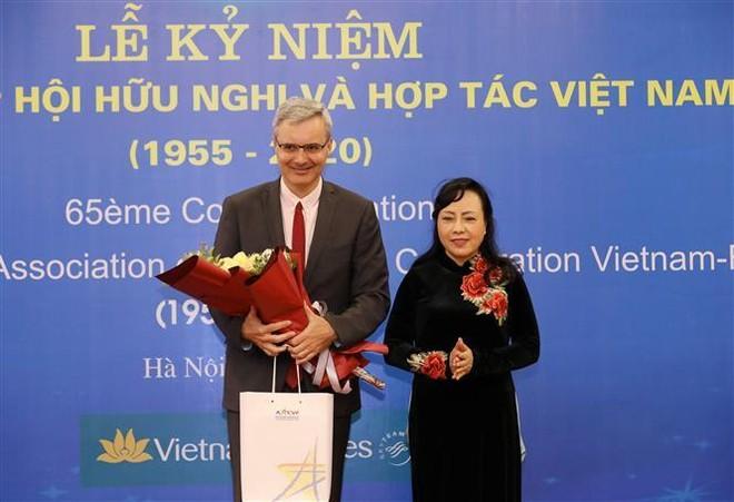 Không ngừng đóng góp cho sự phát triển của quan hệ Việt Nam - Pháp ảnh 1