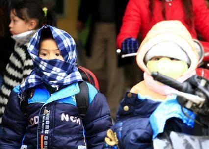 Giữ ấm cho trẻ khi thời tiết giá rét ảnh 1