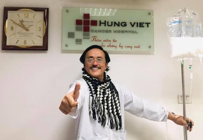 Nghệ sĩ Giang Còi lạc quan chiến đấu với bệnh tật ảnh 1