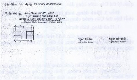 Thông tư: Quy định về mẫu thẻ căn cước công dân ảnh 2