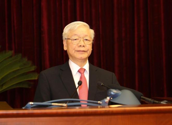 Toàn văn phát biểu của Tổng Bí thư - Chủ tịch nước Nguyễn Phú Trọng tại Hội nghị lần thứ hai, Ban Chấp hành Trung ương Đảng khóa XIII ảnh 1