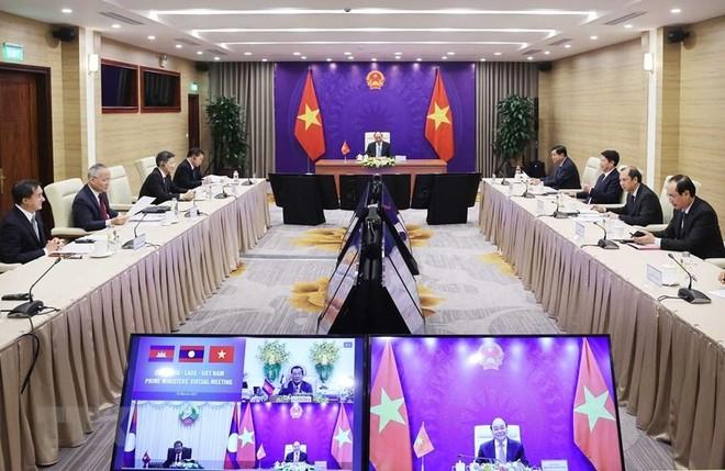 Việt Nam - Lào - Campuchia: Duy trì hòa bình, ổn định ở Biển Đông phù hợp với luật pháp quốc tế ảnh 1
