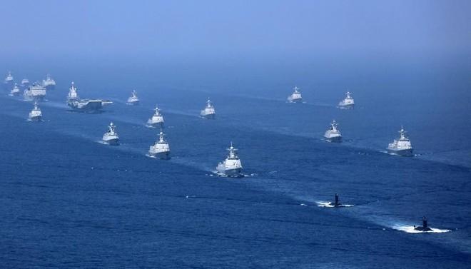 Trung Quốc tập trận trên Biển Đông gây căng thẳng trong khu vực, vi phạm luật pháp quốc tế ảnh 1