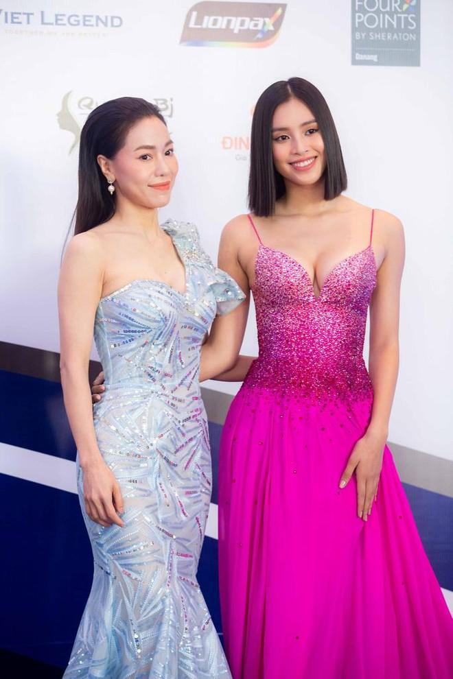 Hoa hậu Trần Tiểu Vy làm giám khảo cuộc thi Hoa khôi Hòa bình Việt Nam ảnh 1