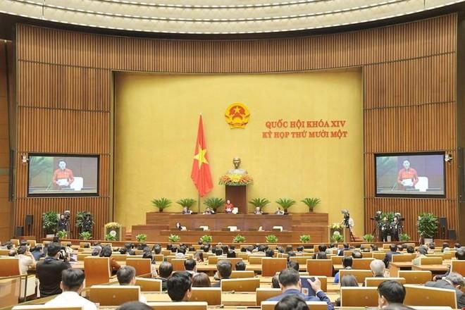 Quốc hội khóa XIV hoàn thành xuất sắc nhiệm vụ, thực hiện đúng lời hứa với cử tri ảnh 1