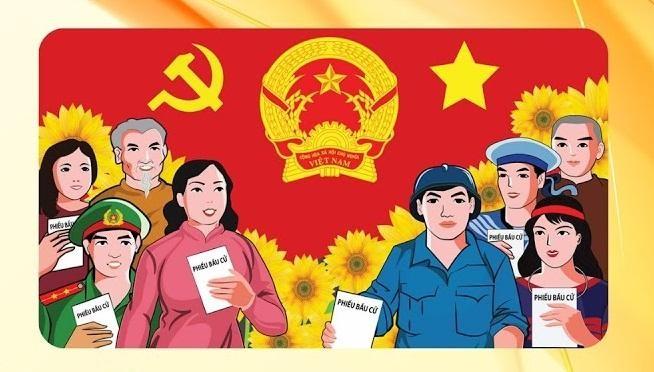Nguyên tắc bỏ phiếu bầu đại biểu Quốc hội, Hội đồng nhân dân các cấp ảnh 1