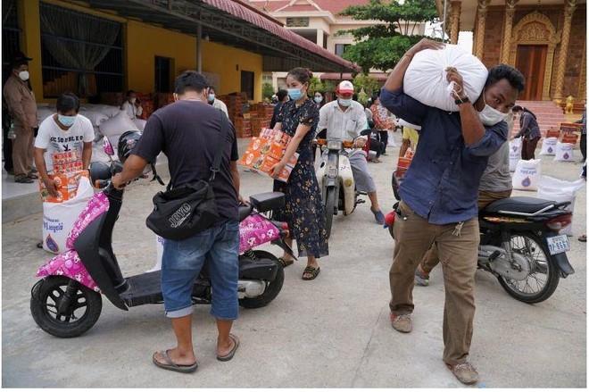 Campuchia ghi nhận hơn 840 ca mắc Covid-19 mới 1 ngày do lây nhiễm trong cộng đồng ảnh 1