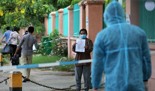 Campuchia ghi nhận con số kỷ lục ca lây nhiễm Covid-19 trong cộng đồng ảnh 1
