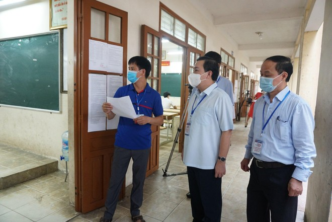 Thi vào lớp 10 THPT ở Hà Nội: Kỳ thi đặc biệt trong bối cảnh phòng dịch cao độ ảnh 1
