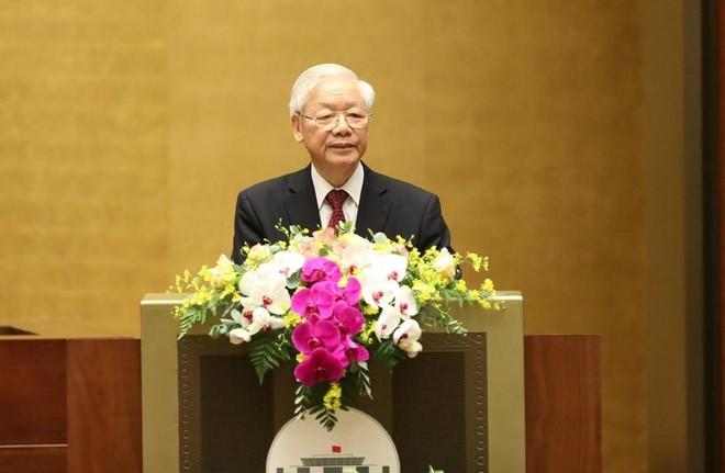 Tổng Bí thư Nguyễn Phú Trọng: Học tập Bác, làm theo Bác, đưa Việt Nam sánh vai với các cường quốc năm châu ảnh 1