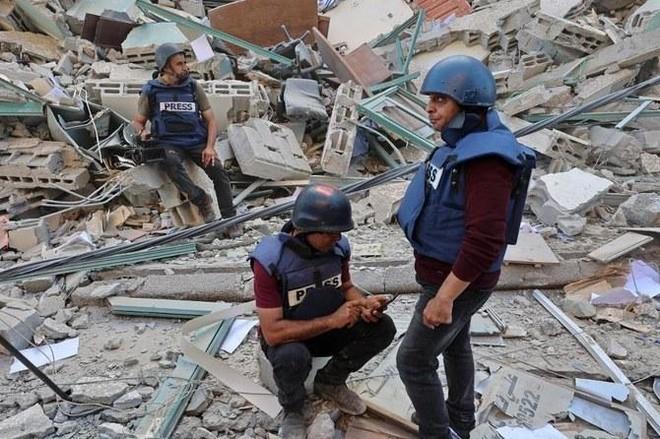 Chia sẻ của phóng viên chiến trường tại dải Gaza ảnh 2